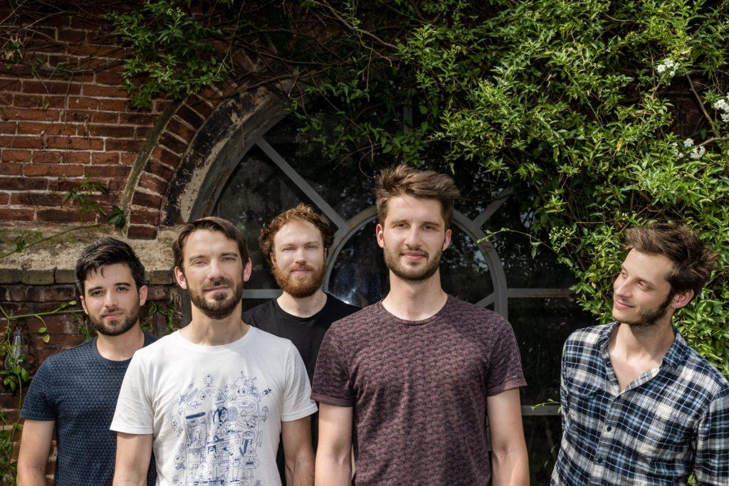 Les musiciens du quintet
