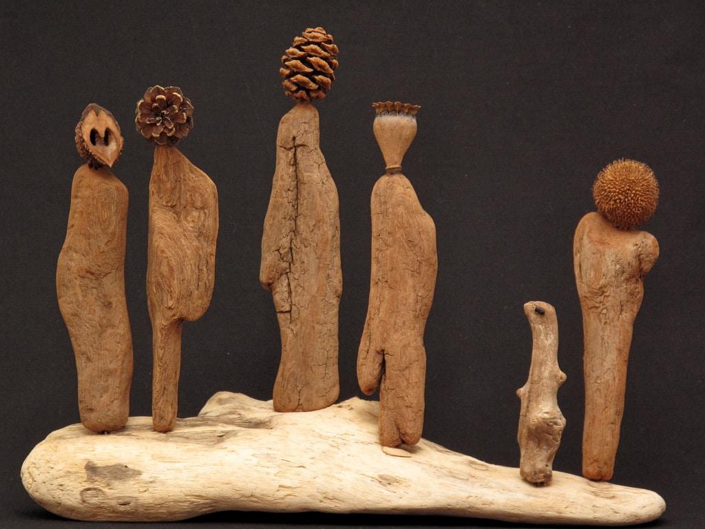 Personnages non genrés (Sculpture)